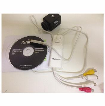 Câmeras CCD para microscópios