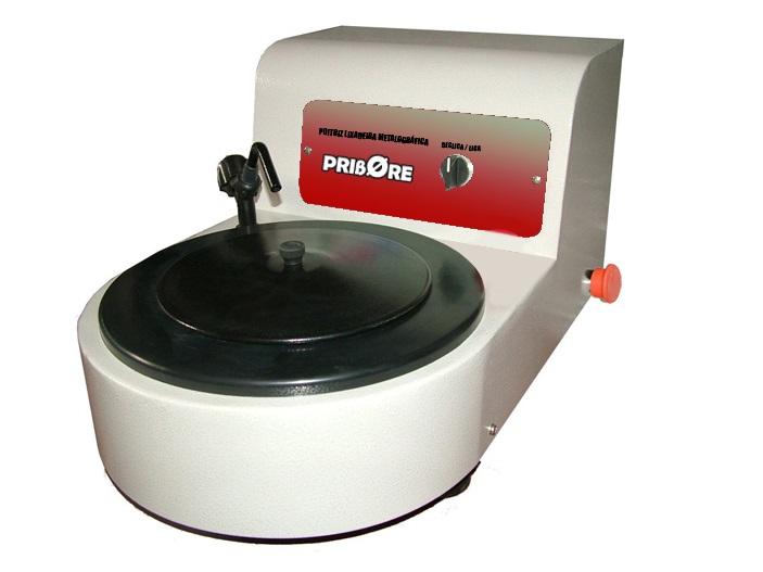 Lixadeira politriz metalográfica de bancada