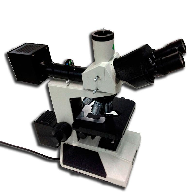 Microscópio metalográfico preço